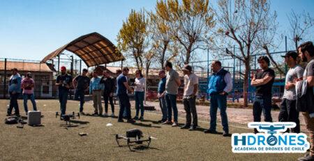 ¿En cuantas clases puedo dominar el manejo de un drone?