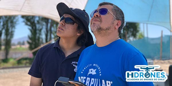 Aprender a volar drones en Chile