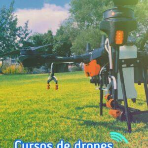Curso fumigación con drones